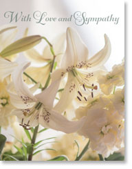 WITH LOVE AND SYMPATHY PETITE