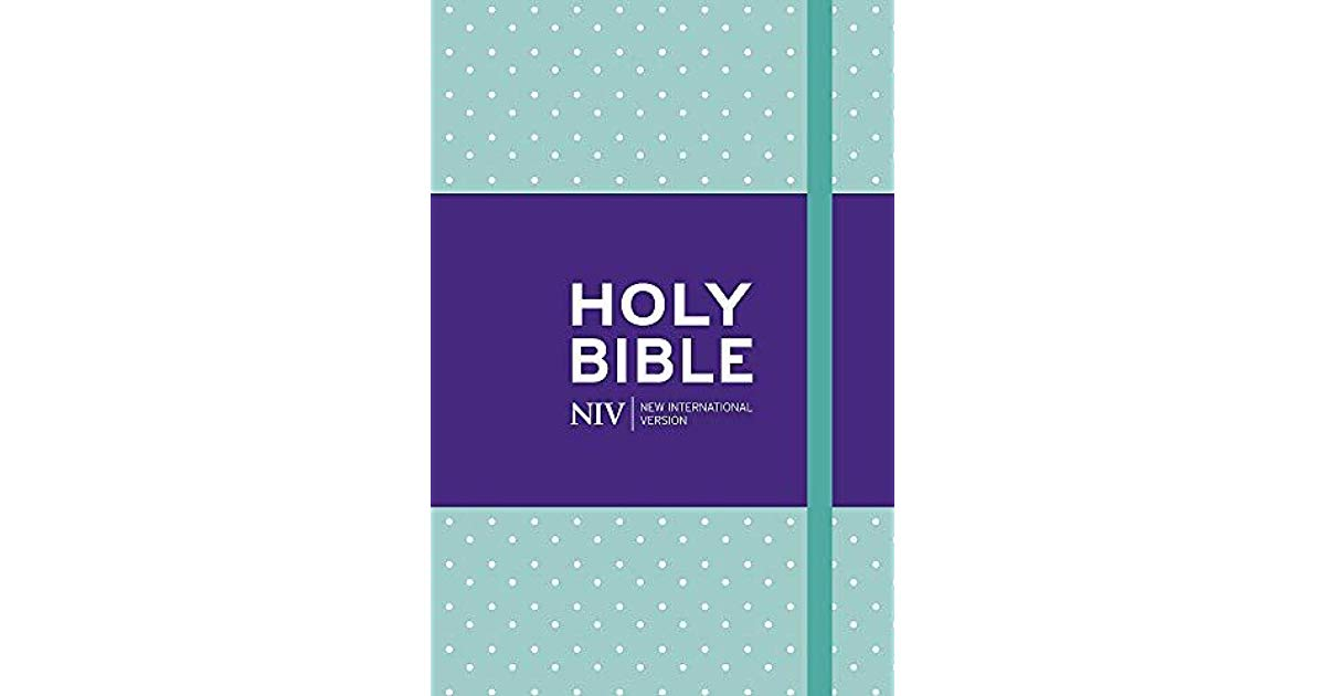 NIV POCKET NOTEBOOK BIBLE POKA DOT