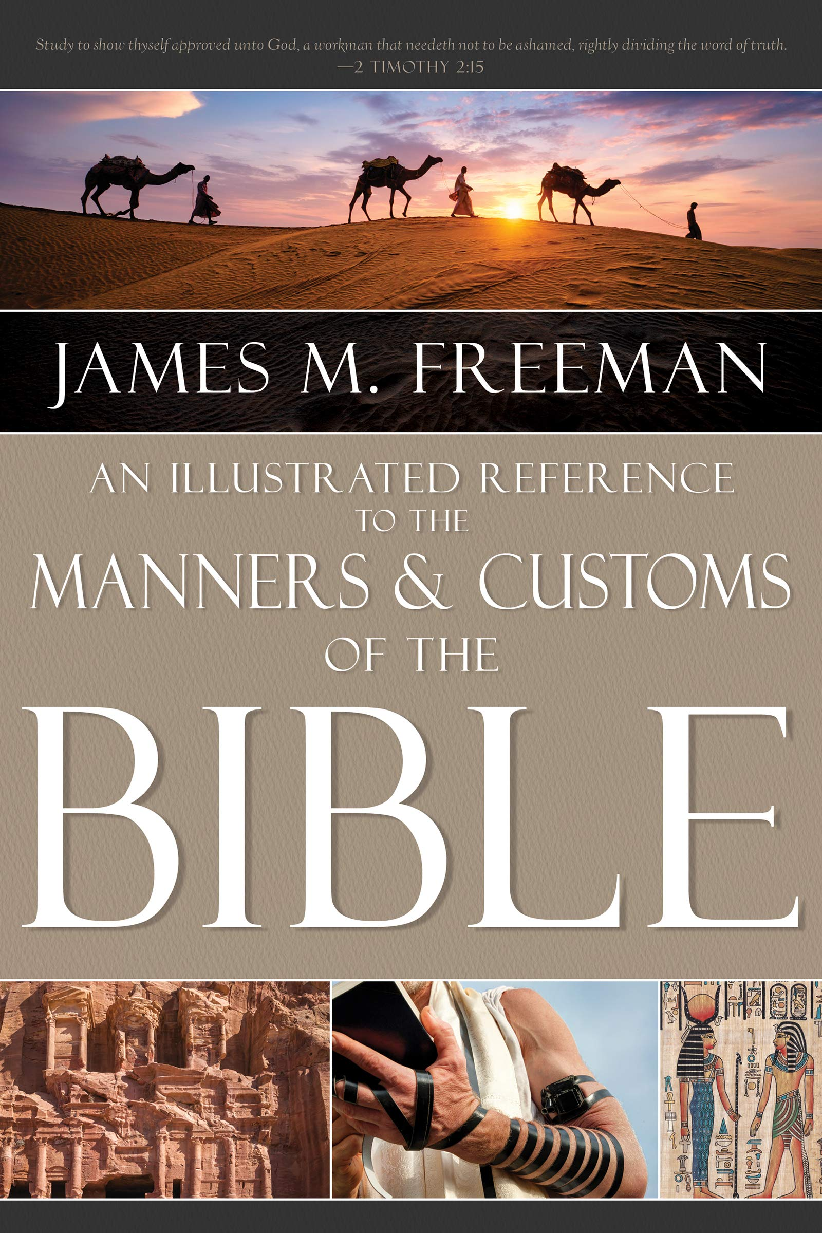 MANNERS AND CUSTOMS OF THE BIBLE HB