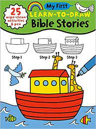 MY FIRST LEARN TO DRAW BIBLE STORIES