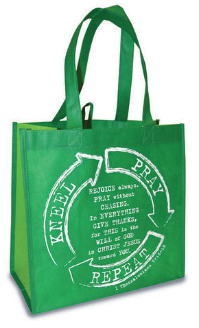 1 THESSALONIANS 5:16-18 ECO TOTE BAG