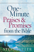 ONE MINUTE PRAISES AND PROMISES FROM THE BIBLE HB