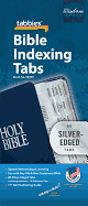 BIBLE TABS SILVER EDGED