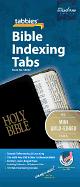 BIBLE TABS MINI GOLD EDGED