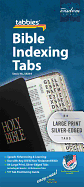BIBLE TABS LARGE PRINT SILVER EDGED
