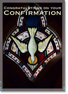 CONGRATULATIONS ON YOUR CONFIRMATION CARD