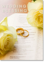 ON YOUR WEDDING BLESSING CARD