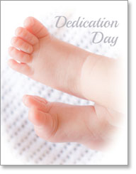 DEDICATION DAY PETITE CARD