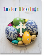 EASTER GREETINGS CARD PETITE