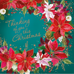 TLM THINKING OF YOU THIS CHRISTMAS PACK OF 10 CARDS