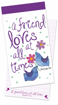 A FRIEND LOVES AT ALL TIME JOTTER