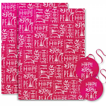 HOPE JOY PEACE WRAPPING PAPER