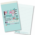 PEACE BE TO YOU JOTTER PAD