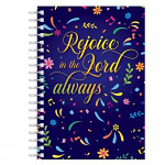REJOICE IN THE LORD A5 NOTEBOOK