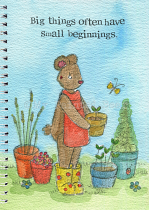 SMALL BEGINNINGS A5 NOTEBOOK