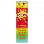 10 JESUS LOVES YOU BOOKMARKS