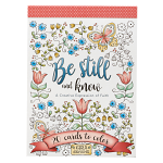 BE STILL AND KNOW COLOURING POSTCARDS