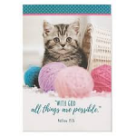 PET NOTEPAD ALL THINGS ARE POSSIBLE