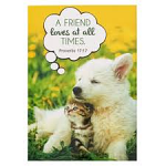 PET NOTEPAD A FRIEND LOVES AT ALL TIMES