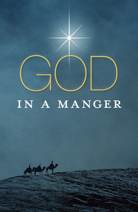 GOD IN A MANGER TRACT PACK OF 25
