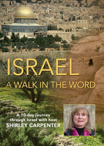 ISRAEL A WALK IN THE WORD DVD