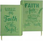 WALK BY FAITH ARTISAN NOTEBOOK