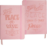 MAY PEACE BE WITH YOU ARTISAN NOTEBOOK
