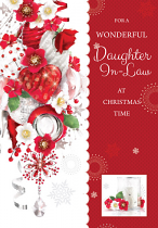 DAUGHTER-IN-LAW CHRISTMAS CARD