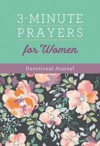 3 MINUTE PRAYERS FOR WOMEN JOURNAL