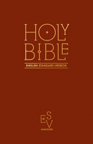 ESV ANGLICISED PEW BIBLE