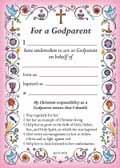 GODPARENT CARD PINK BG1 PACK OF 40