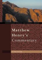 MATTHEW HENRYS COMMENTARY HB