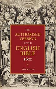 AUTHORISED VERSION OF THE ENGLISH BIBLE 1611 VOLUME 4 APOCRYPHA