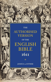 AUTHORISED VERSION OF THE ENGLISH BIBLE 1611 VOLUME 2 JOSHUA TO ESTHER
