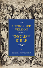 AUTHORISED VERSION OF THE ENGLISH BIBLE 1611 5 VOLUME SET