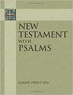 ESV GIANT PRINT NEW TESTAMENT