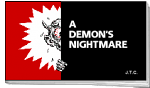 A DEMON'S NIGHTMARE TRACT PACK OF 25