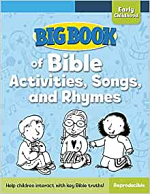 BIG BOOK OF BIBLE ACTIVITIES AND SONGS