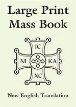 LARGE PRINT MASS BOOK