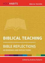 BIBLICAL TEACHING HOLY HABITS