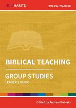 BIBLICAL TEACHING GROUP STUDIES