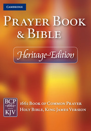 BCP KJV PRAYER BOOK AND BIBLE