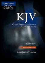 KJV CAMEO REFERENCE BIBLE WITH APOCRYPHA