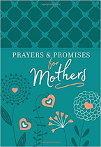 PRAYERS AND PROMISES FOR MOTHERS BLUE IMITATION LEATHER