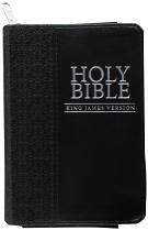 KJV MINI POCKET BIBLE WITH ZIP
