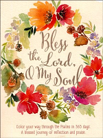 BLESS THE LORD O MY SOUL COLOURING JOURNAL