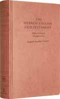 ESV HEBREW ENGLISH PARALLEL OLD TESTAMENT HB