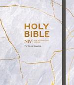 NIV VERSE MAPPING BIBLE GREY