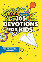 HANDS ON BIBLE 365 DEVOTIONS FOR KIDS