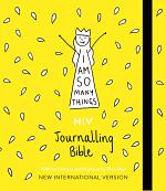 NIV I AM SO MANY THINGS JOURNALLING BIBLE